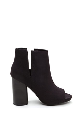 Slits For The Best Chunky Booties