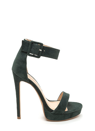 Heel Your Sole Ankle Strap Platforms