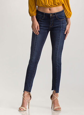 Next Step Distressed Skinny Jeans