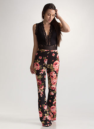 Bloom For Improvement Flared Pants
