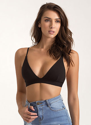 Underneath It All Triangle Bralette