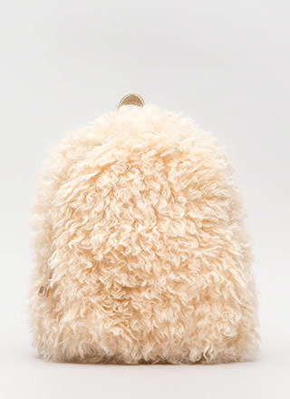 Furry Up And Go Mini Backpack