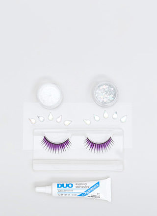 Party Peepers Eyelash And Glue Set