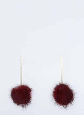 Stick To The Pom-Pom Earrings