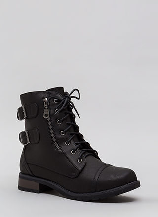 Fight For Your Right Combat Boots