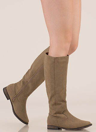 It's Your Time Knee-High Riding Boots
