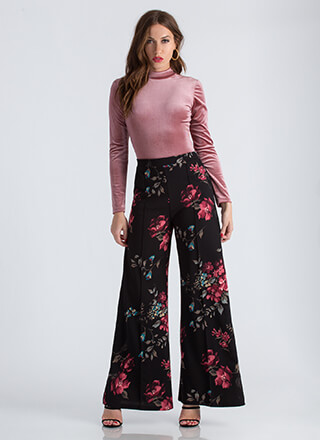 Girl In The Garden Floral Palazzo Pants
