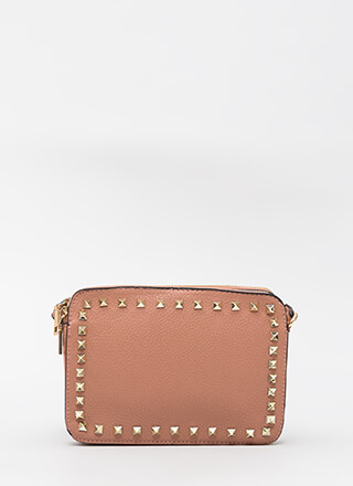 Accessorize Me Pyramid Stud Bag