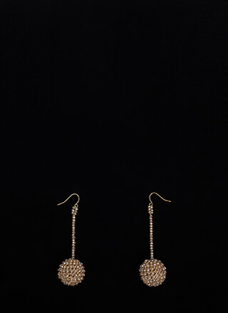 Have A Ball Dangling Beaded Earrings
