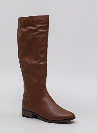 Into The Sunset Faux Leather Boots
