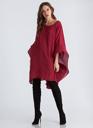 Social Butterfly Flutter Sleeve Dress