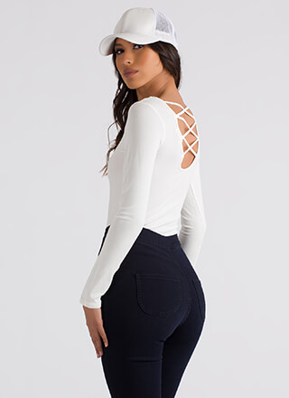 Strappy To Be Here Caged Back Top