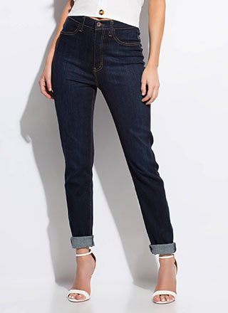 Feeling Skinny High-Waisted Jeans