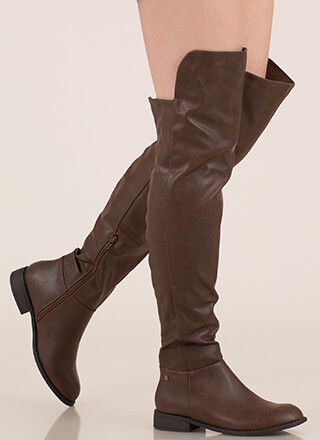 My Highs And Lows Thigh-High Boots