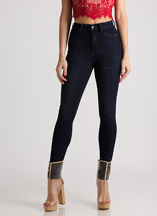 All My Curves High-Waisted Skinny Jeans