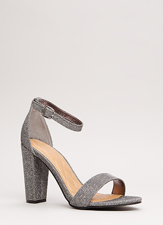 Show Me The Sparkle Glittery Heels
