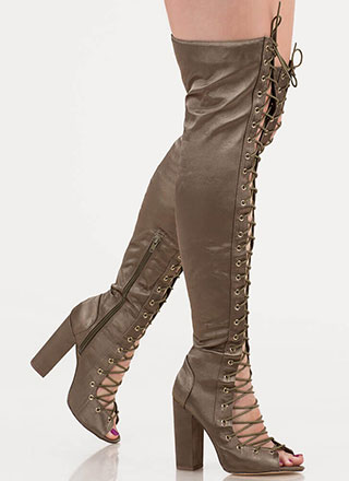 5eada3ec5a7 Thigh-High Boots, Lace Up Boots & More Women's Boots