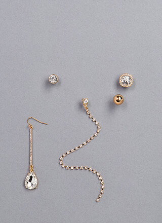 Mix Up Assorted Single Earring Set