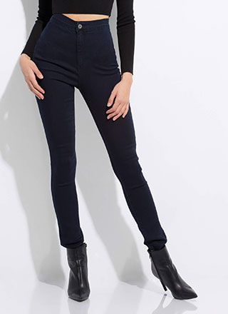 All Curves High-Waisted Skinny Jeans