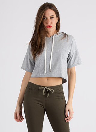 Cool And The Gang Cropped Hoodie