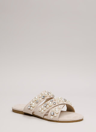 Treasure Hunt Strappy Jeweled Sandals