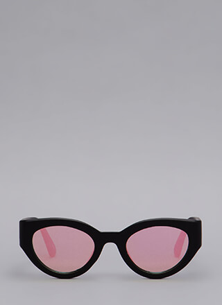 Eye See You Thick Frame Sunglasses