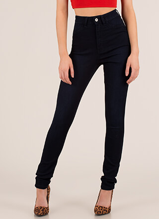 Every Day High-Waisted Skinny Jeans