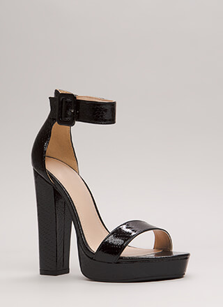 Scale These Heights Chunky Platforms