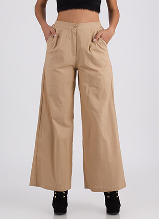 Sophisticated Flare Palazzo Pants
