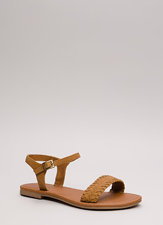 Weekend Life Woven Strap Sandals