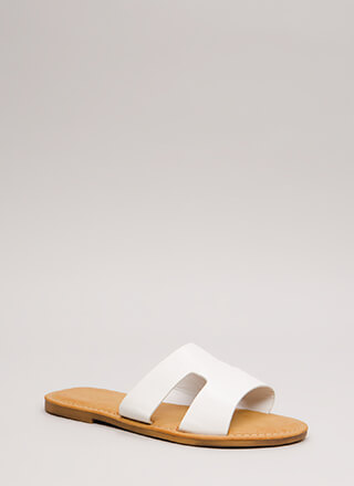 Fun Day Out Cut-Out Slide Sandals