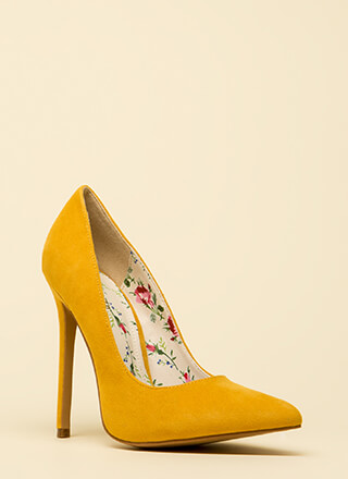 Classic Silhouette Pointy Stiletto Pumps