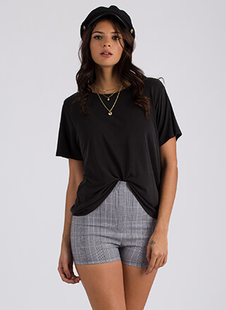Relax Your Mind Short-Sleeved Top