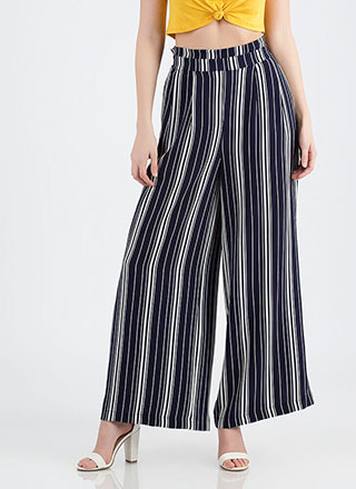 Sure Wide Not Striped Palazzo Pants