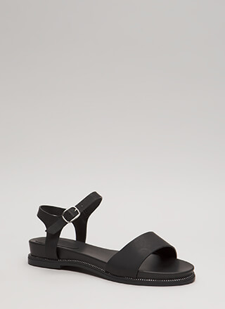 Reign Supreme Strappy Studded Sandals
