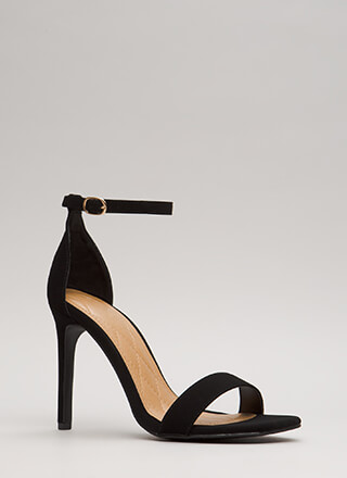 Simply Timeless Faux Nubuck Heels