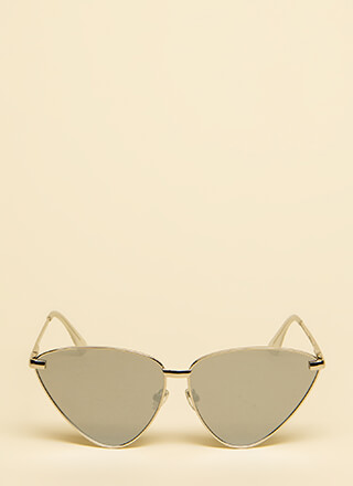 Flare For Fashion Oversized Sunglasses
