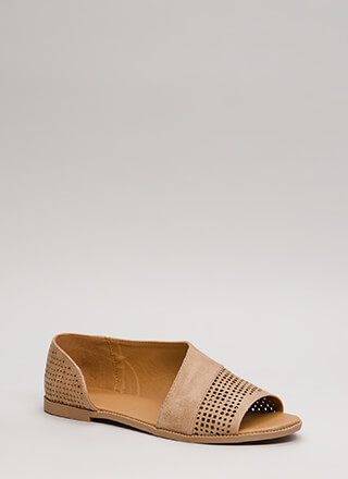 Open Up Asymmetrical Perforated Flats