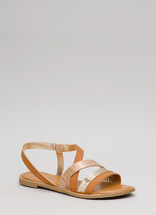 All In The Details Strappy Sandals