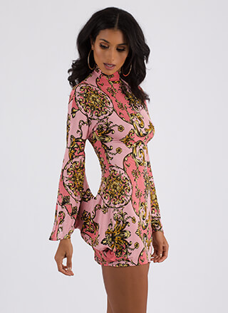 Special Connection Baroque Minidress