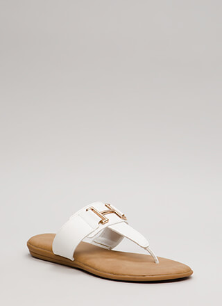 Cabana Girl Bracketed Thong Sandals