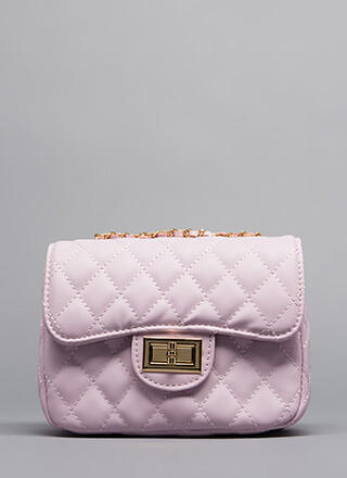 Brand Name Babe Quilted Purse