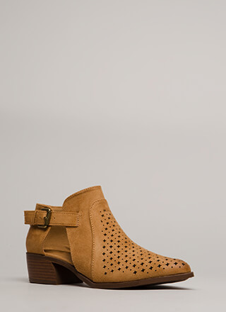 Twinkle Twinkle Chunky Cut-Out Booties