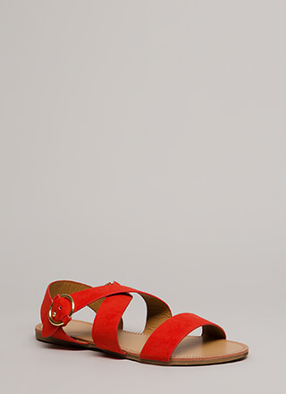 Fun Times Strappy Caged Sandals