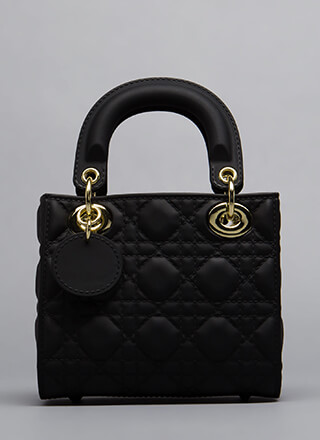 Fake-Out Faux Quilted Handbag