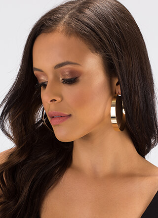 Essentially Yours Hoop Earrings