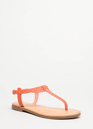 Stomping Ground T-Strap Sandals
