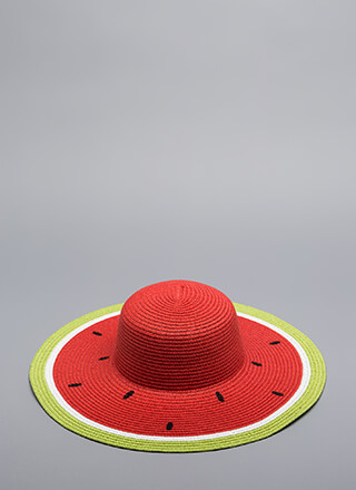 Seeds The Day Watermelon Sun Hat