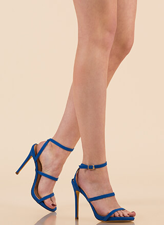 A Thing Of Beauty Strappy Heels