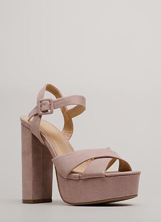 Serious Business Chunky Platform Heels